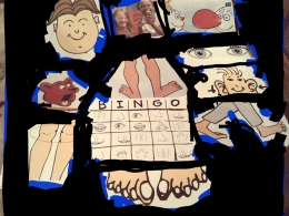 Bingo with body parts