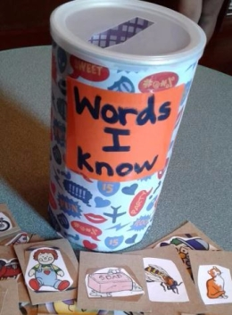 """Words I Know"" Bank"